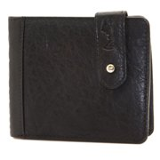 "Religion Men's Leather ""Burnt Cards"" Wallet One Size Black"