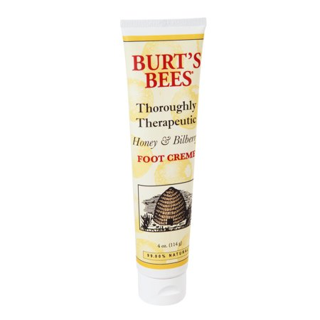 Burts Bees Thoroughly Therapeutic Honey   Bilberry Foot Creme  4 0 Oz