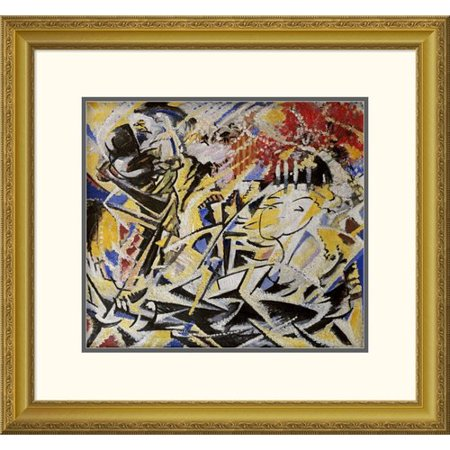 Global Gallery The Dynamic Sensation Of The Dance By Jules Schmalzigaug Framed Wall Art
