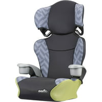 Evenflo Big Kid Sport High Back Booster Car Seat, Goody Two Tones