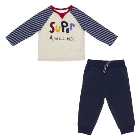 ED Ellen DeGeneres Baby Super Amazing Pant Set (Boys & (Italian Name For Baby Girl With Meaning)