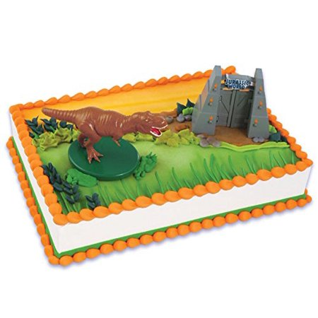 Jurassic World Cake Topper 2 Pieces