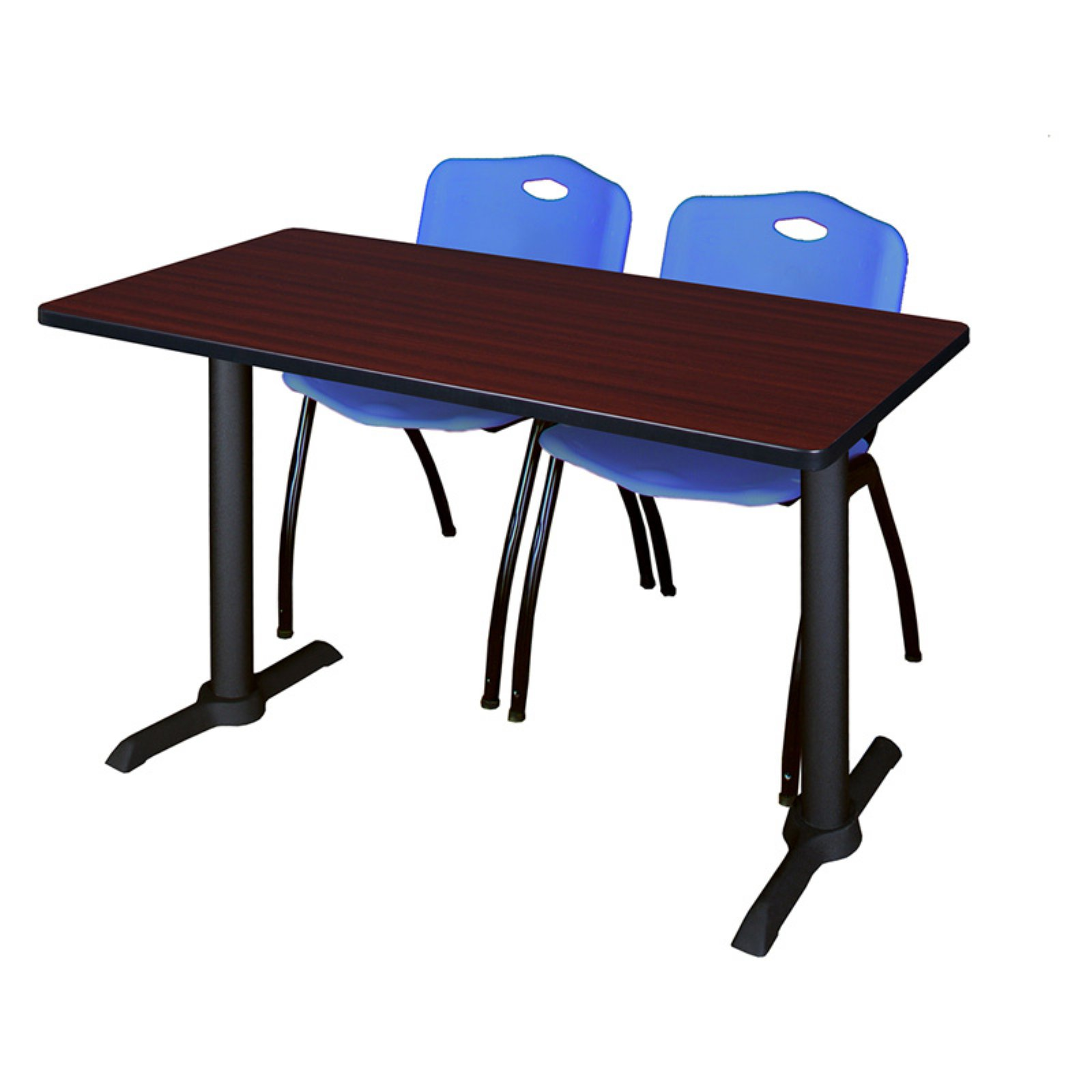 Regency Cain Training Table with 2 Stackable M Chairs