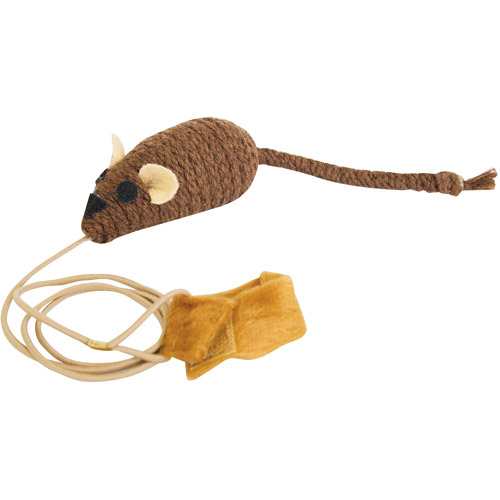 Ourpets CT-10353 Play-N-Squeak Catch Of The Day Cat Toy
