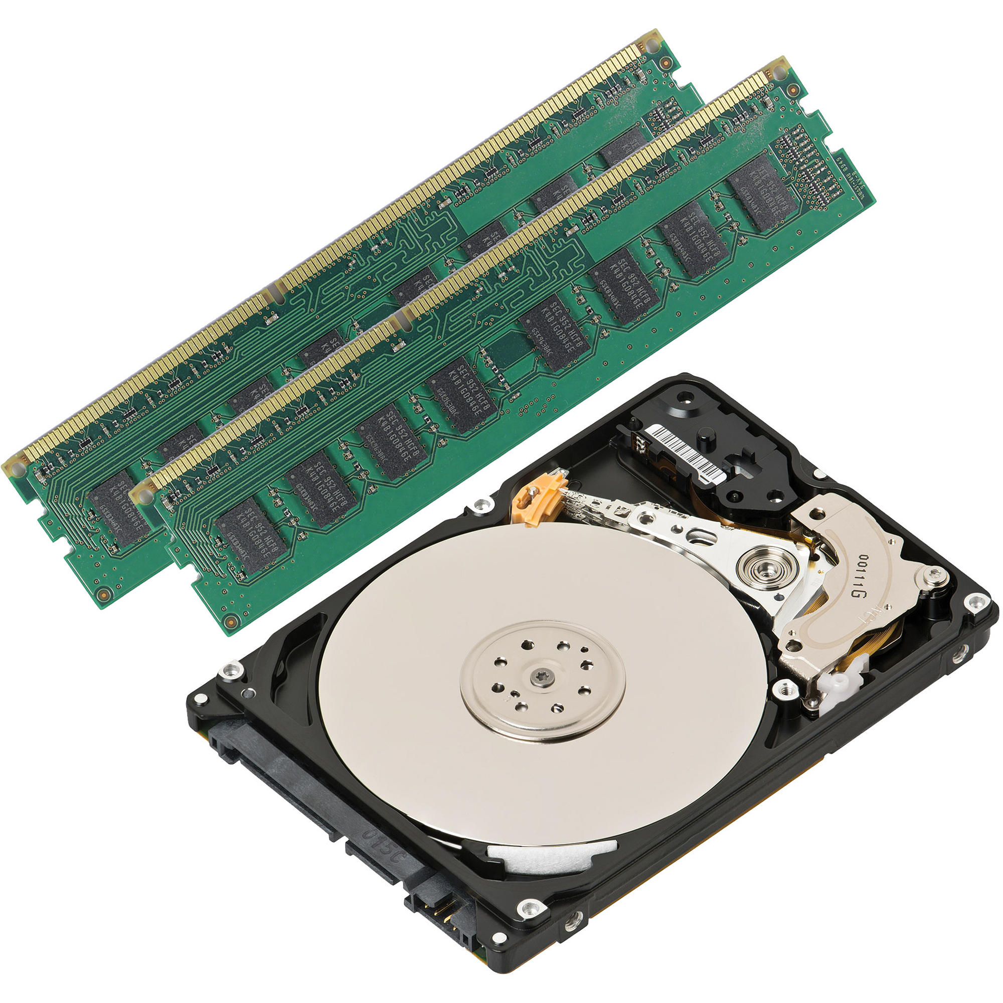 8GB DDR3 + 500GB Hard Drive