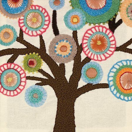 Dimensions Handmade Collection Tree Crewel Embroidery Kit, 10
