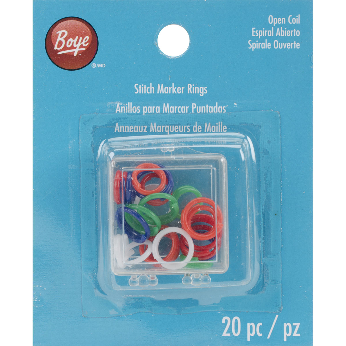 Stitch Marker Rings, Pack of 20