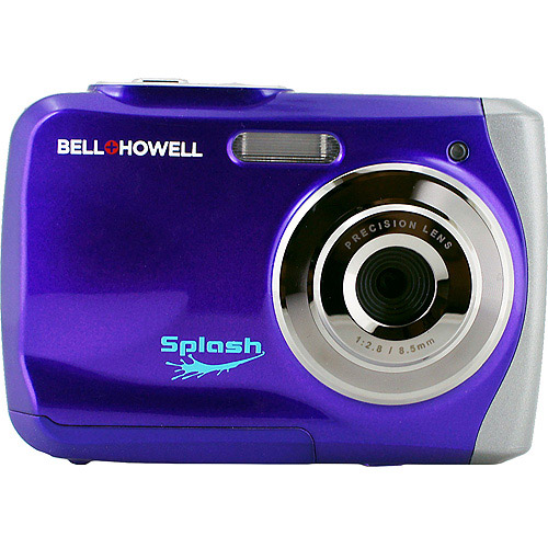 Bell+Howell(R) WP7-P 12.0-Megapixel WP7 Splash Waterproof Digital Camera (Purple)
