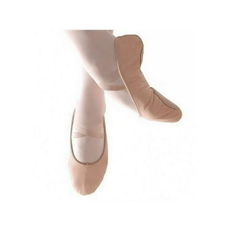 Topumt Adult Child Girl Gymnastics Ballet Dance Shoes Canvas Slippers Ballet Pointe Toe Dance Shoes Professional