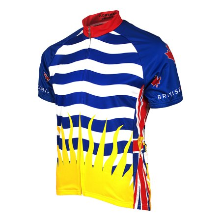 Adrenaline Promotions British Columbia Cycling Jersey
