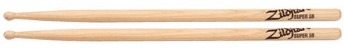 5B Wood Natural Drumsticks by Zildjian