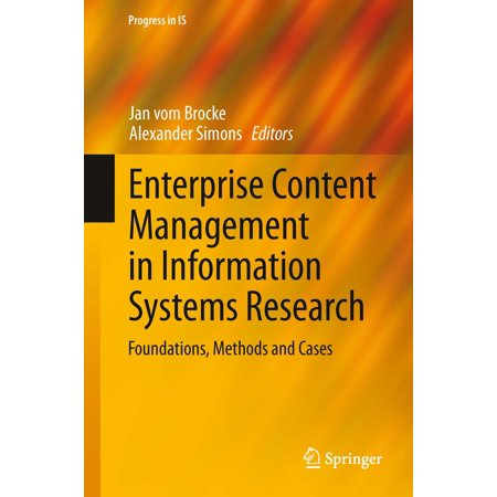 Enterprise Content Management in Information Systems Research - (Best Enterprise Content Management System)