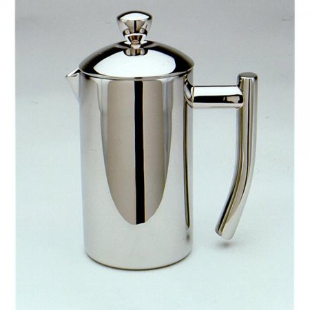 French Coffee Press Mirror Finish 18/10 Stainless Steel 2 Cup/8 Oz
