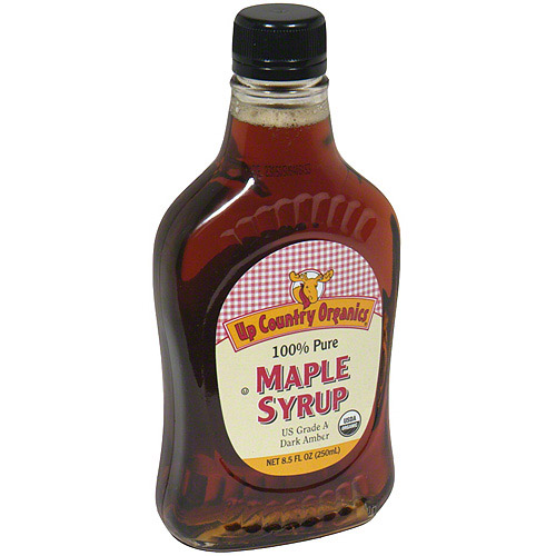Maple Grove Farms Organics Maple Syrup, 8.5 oz (Pack of 12)