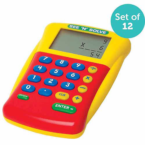 Educational Insights See 'N' Solve Visual Calculator Party Pack