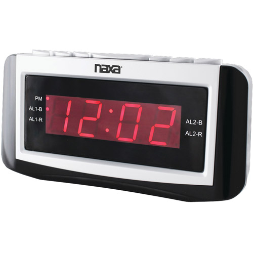 Naxa NRC171 Alarm Clock with Large LED Display