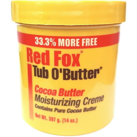 Full Skin Fox (Red Fox Cocoa Butter Moisturizing Creme, 10.5)