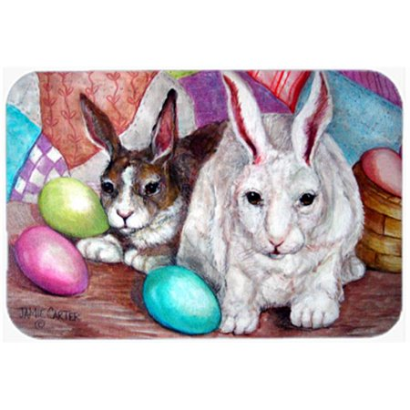Carolines Treasures PJC1064JCMT Buddy Buddies Easter Rabbit Kitchen & Bath Mat, 24 x 36 in. - image 1 de 1