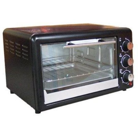 Avanti Toaster Oven 0.60 Ft Capacity Toast, Broil, Bake Black (po61ba) by