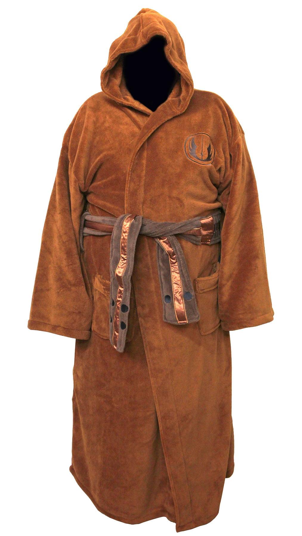 d3021f369c Star Wars - Jedi Master Fleece Costume Bathrobe - Walmart.com