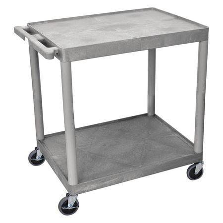 Utility Cart,400 lb. Load Cap.,PE ZORO SELECT TC22-G