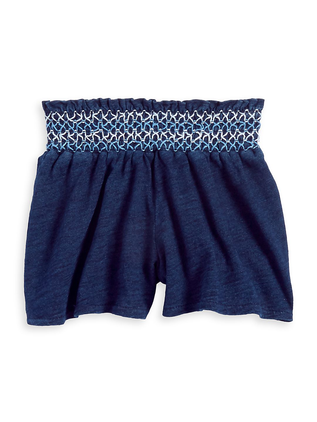 Little Girl's Knitted Cotton Shorts