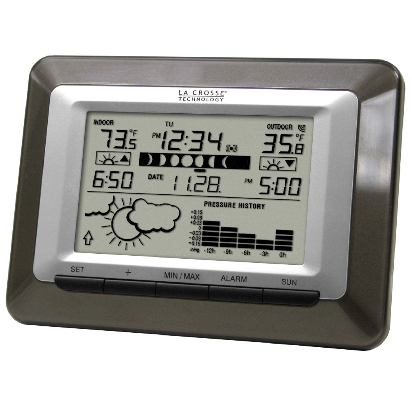 La Crosse Technology Wireless Advanced Sun Moon Weather Station by LaCrosse Technology
