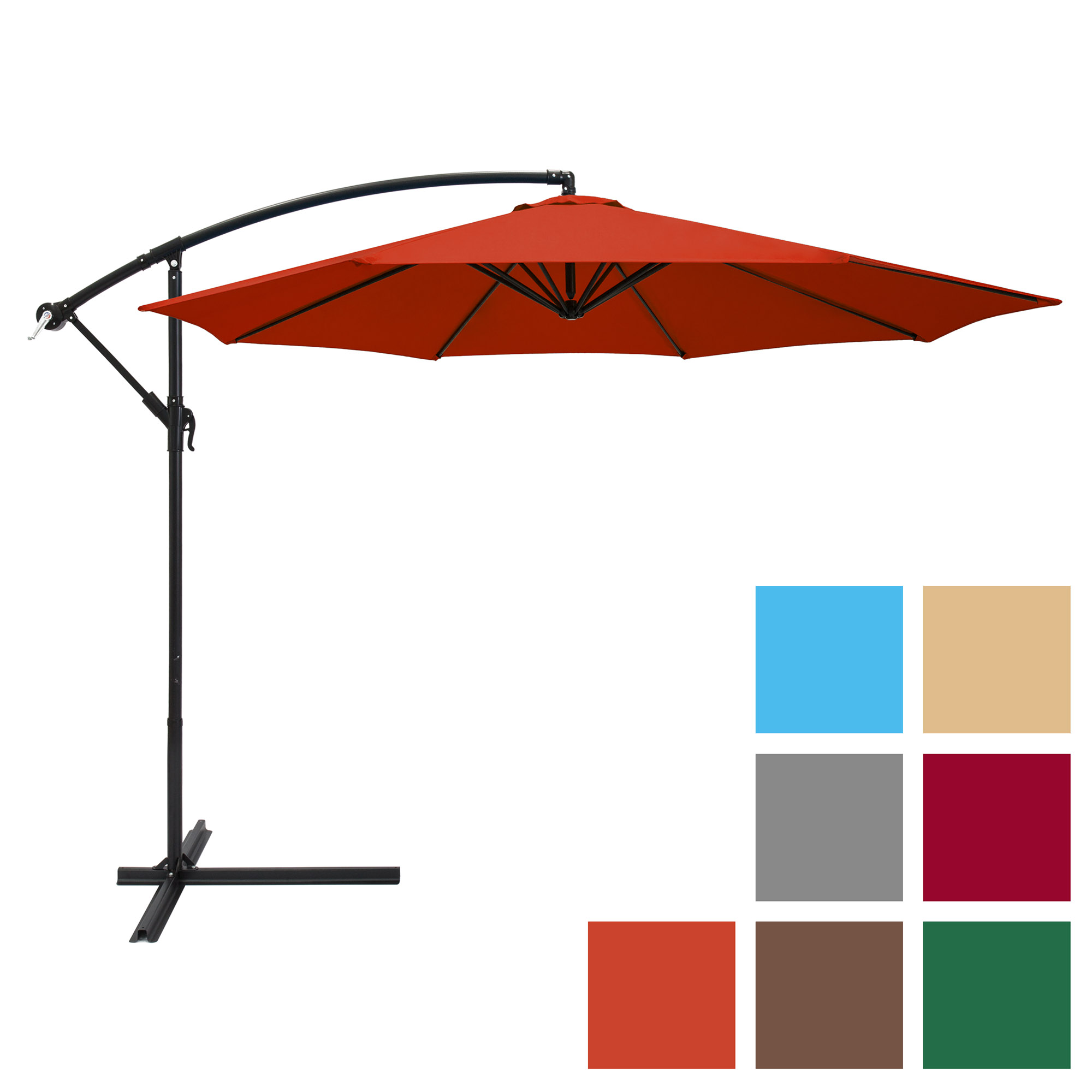 42 Inches 10 Ribs Men RLDSESS Autumn Compact Patio Umbrella Ladies Automatic Opening and Closing,Park Clearing in Autumn,Windproof Rainproof