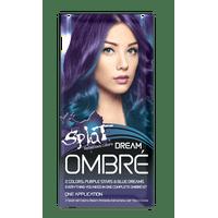 Splat Lusty Lavender Hair Color Kit, Semi Permanent Purple Hair Dye