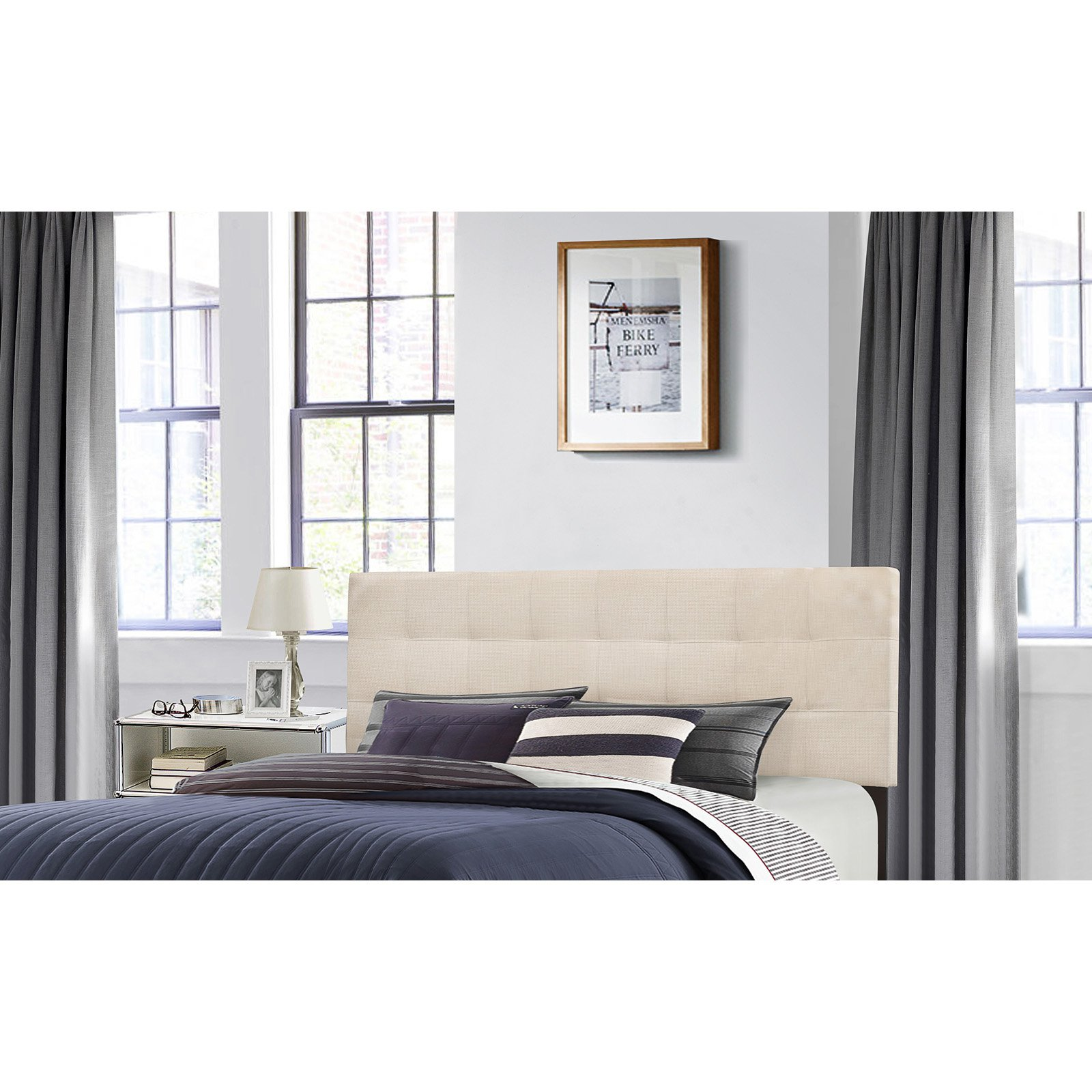 Hillsdale Delaney Upholstered Headboard