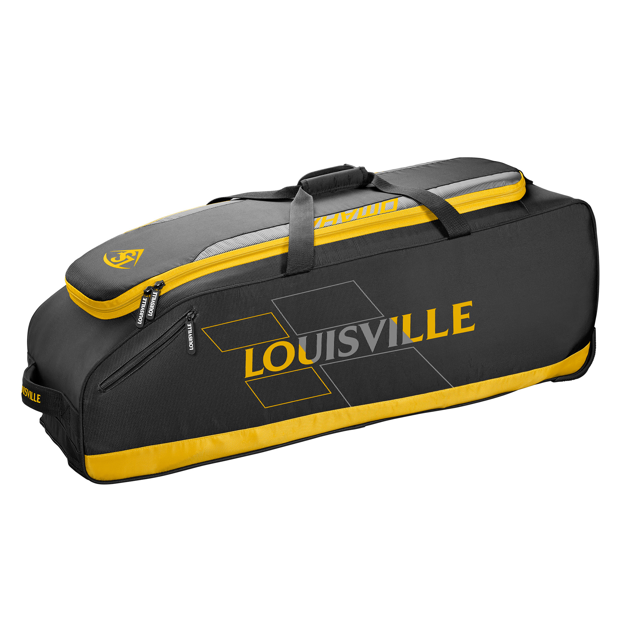 Louisville Slugger Omaha Rig Baseball/Softball Wheel Bag