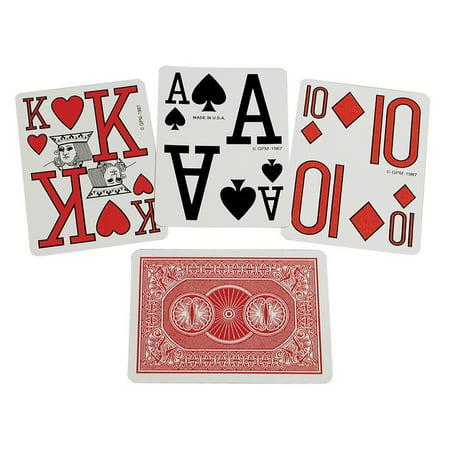 Marinoff Large Print Playing Cards (Print Playing Cards)