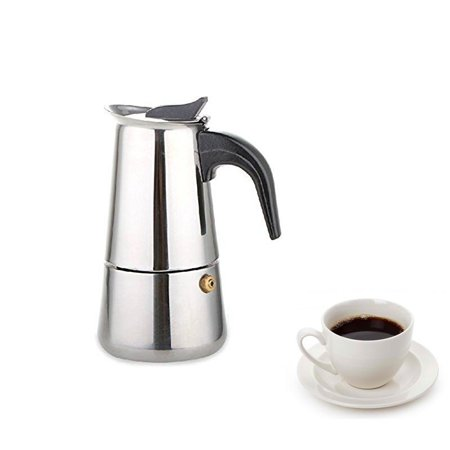 Espresso Coffee Maker  9 Cup  Classic Italian Method Of Brewing (Best Coffee Brewing Method)