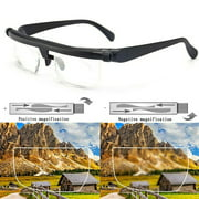 Adjustable Strength Reading Glasses, Variable Focus Glasses Driving Glasses, Presbyopic Glasses