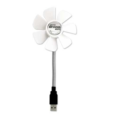 Arctic Cooling ABACOBZG0001000 Arctic Breeze Mobile Portable Usb-powered 92mm Cooling Fan That Can Be Powered