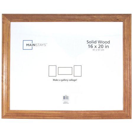 mainstays ms 16x20 oak collage mat frame
