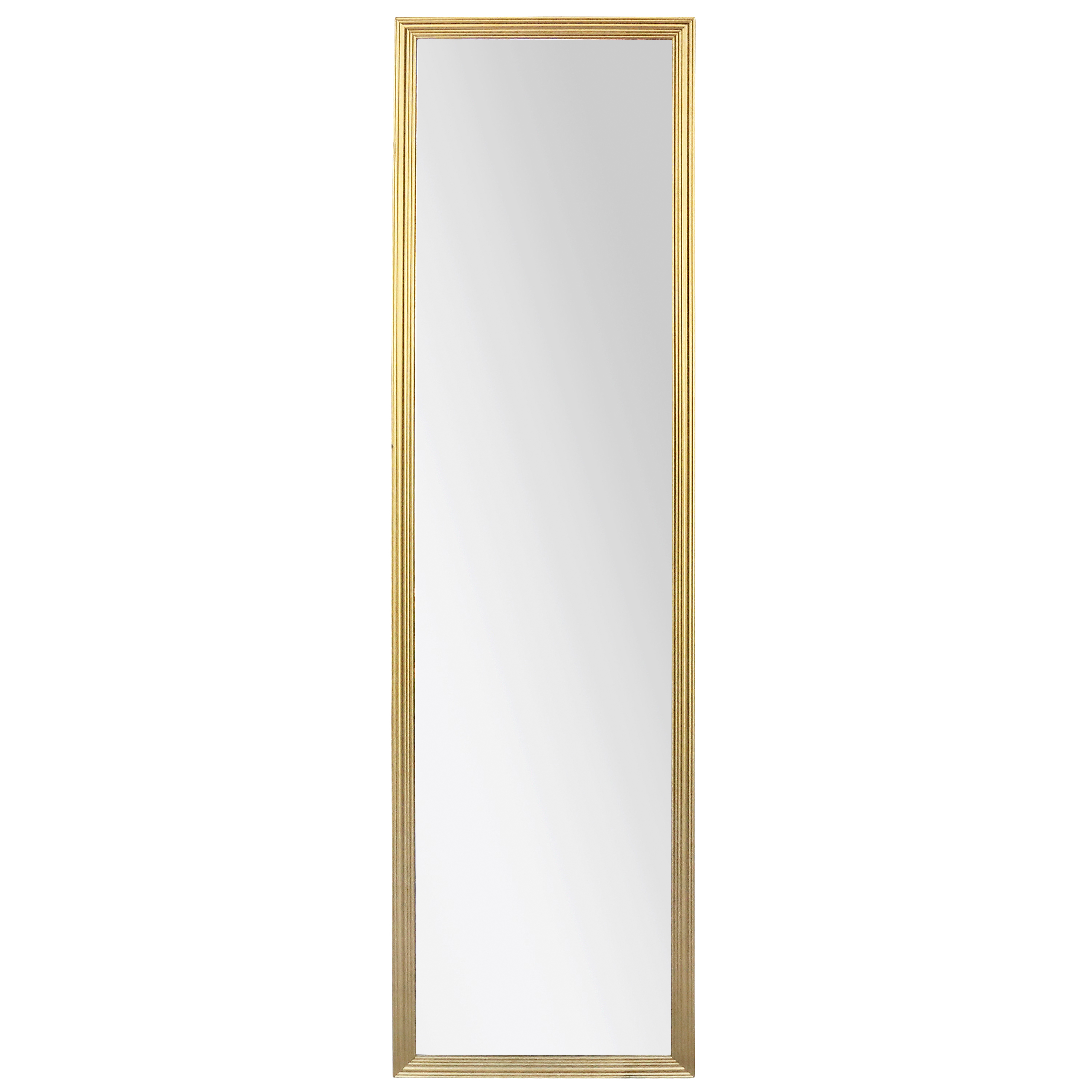 Mainstays Gold Door Mirror, 34x125.4 cm or 13.39x49.37 inches by