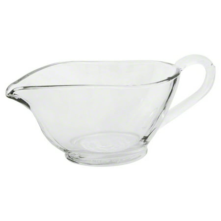 Anchor Hocking 77938 Presence Gravy Boat, Glass, 10-Ounce