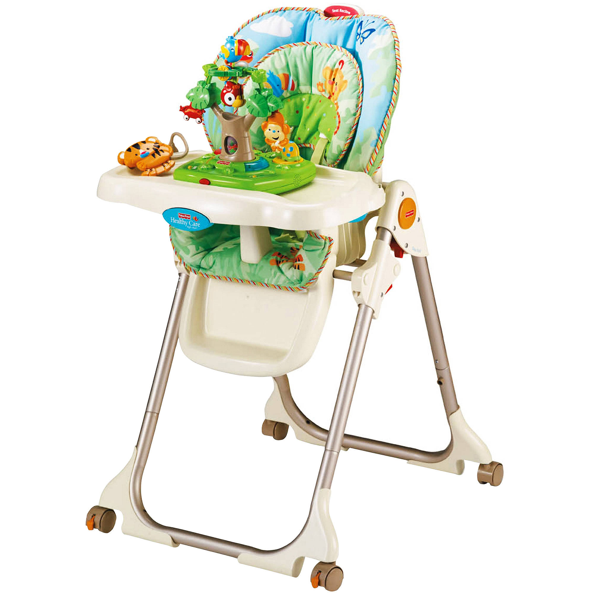 Fisher-Price - Rainforest Healthy Care High Chair
