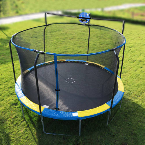 The Jump Slammer Trampoline Basketball Hoop is the ultimate addition to your trampoline! Your kids will LOVE the Jump Slammer. We're so sure of this that .