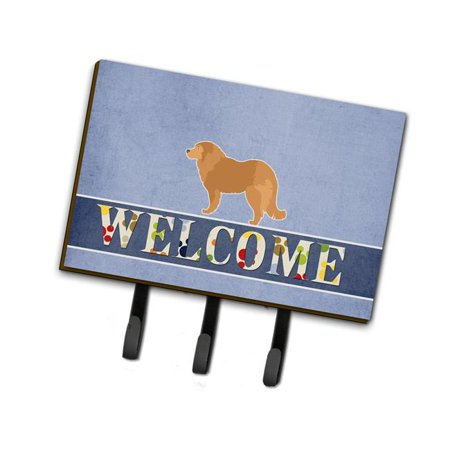 Carolines Treasures BB5529TH68 Caucasian Shepherd Dog Welcome Leash or Key Holder - image 1 de 1