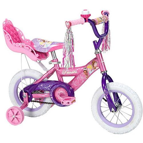 "12"" Disney Princess Bike With Doll Carri"