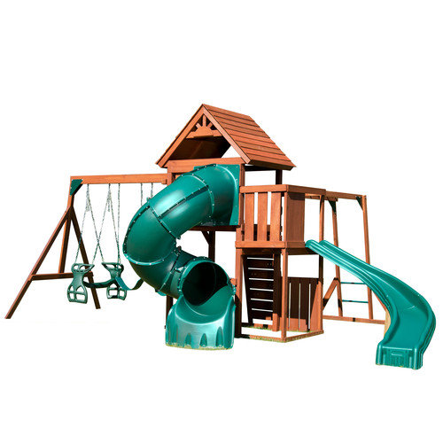 Swing-N-Slide Grandview Twist Wood Swing Set