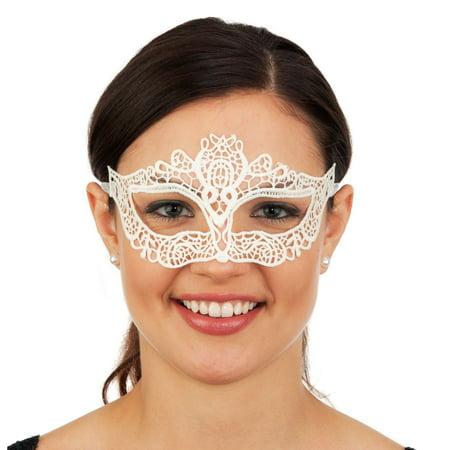 Ivory Lace Eyemask