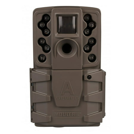 Range Color Camera (Moultrie A-25 12MP Low Glow Long Range Scout Infrared Game Trail Camera, Brown )