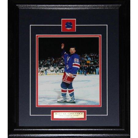 Wayne Gretzky New York Rangers Final Game 8x10 NHL Hockey Collector Frame - image 1 of 1