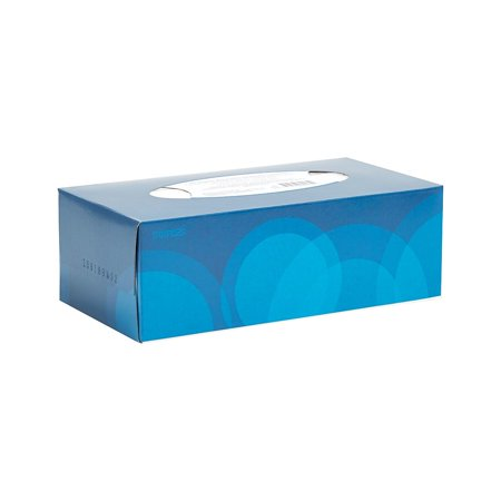 Tissue Single - Staples Facial Tissues Flat Box 2-Ply 160 Sheets/Box Single Box 24322421