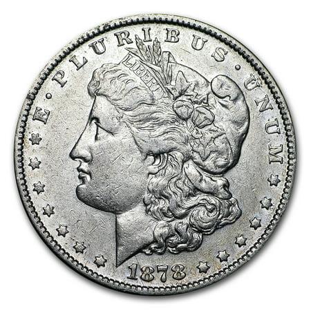 1878 Morgan Silver Dollar 7 Tailfeathers Rev of 78 VG/XF (1878 Morgan Silver Dollar Coins)