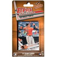 Baltimore Orioles 2016/17 Team Set Baseball Trading Cards - No Size