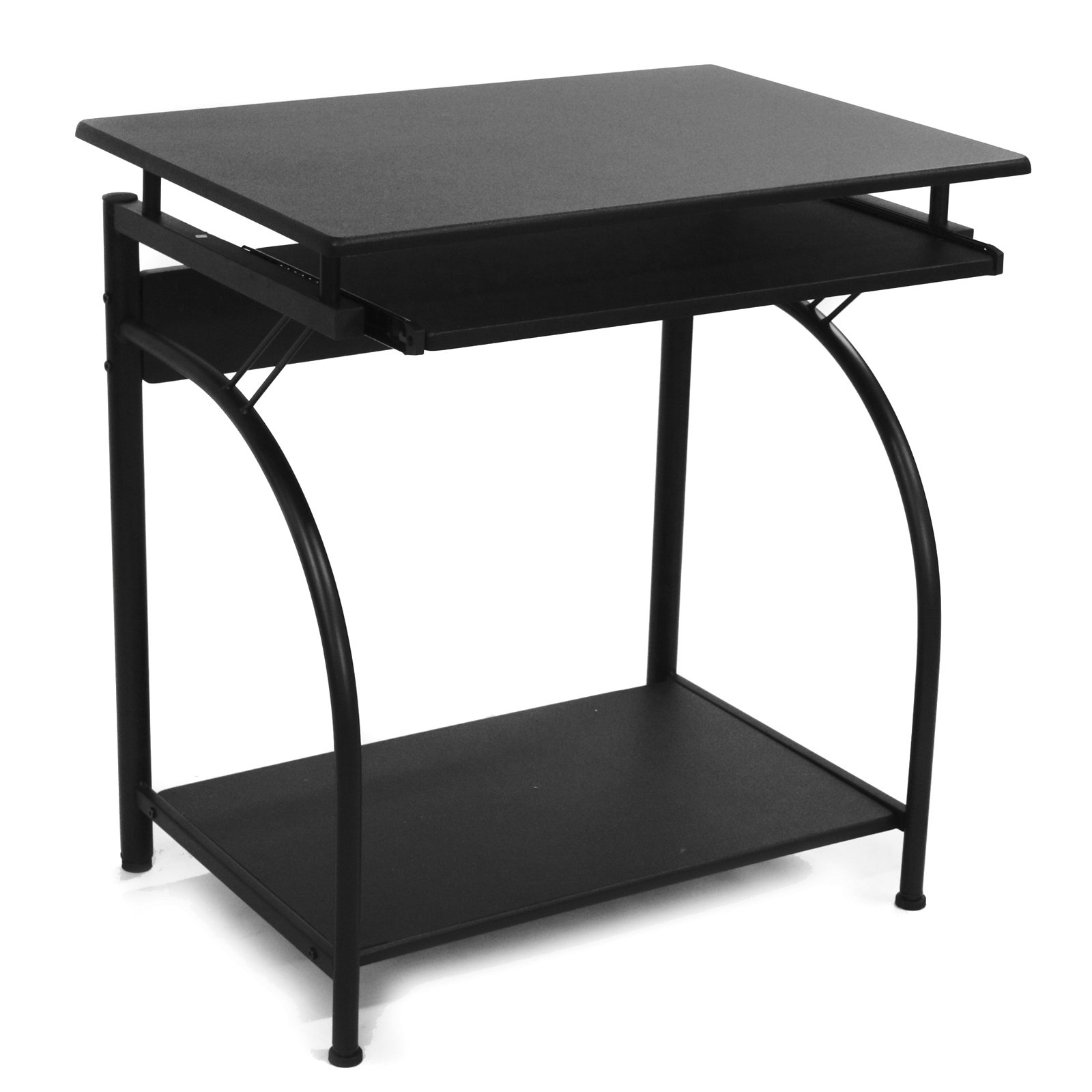 comfort products stanton computer desk with pullout keyboard tray rh walmart com